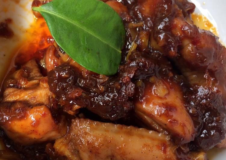Ayam Royco bumbu rujak