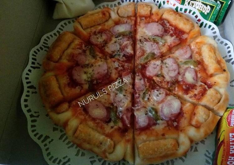 Pizza Teflon Simple, Empuk & Delicious