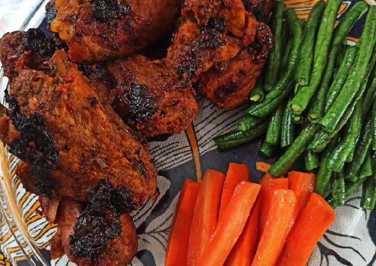 Resep Ayam Bakar Madu irit untuk jualan