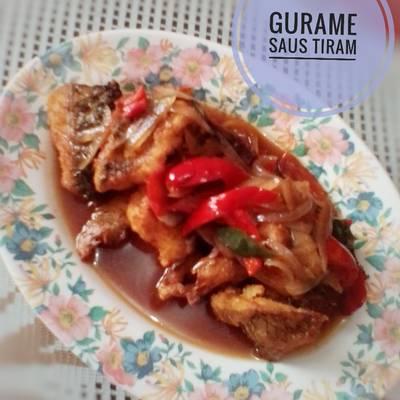 Resep Gurame Saus Tiram Oleh Indah Triwiartuti Cookpad