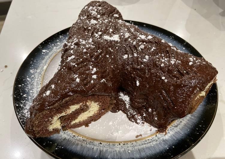 Chocolate log