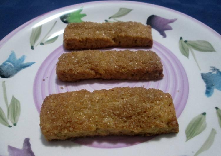 Biscotti di farro e zucchero di canna
