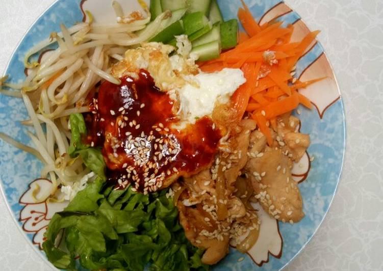 Bibimbap - menu sehat