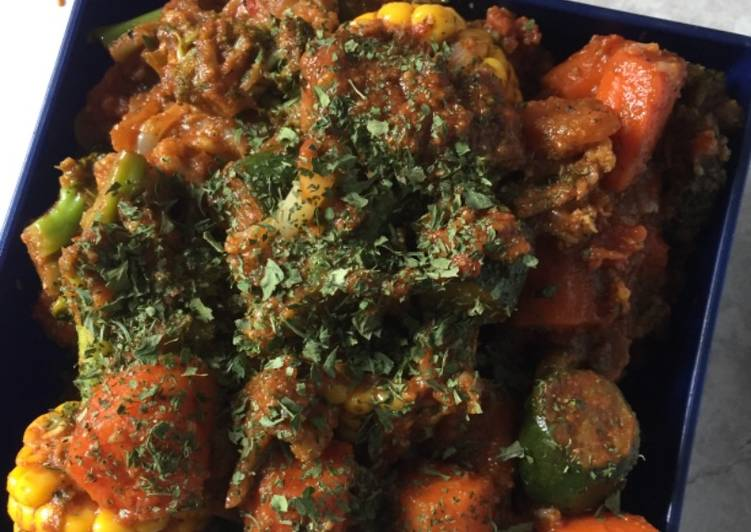 Now You Can Have Your Mild vegetable curry