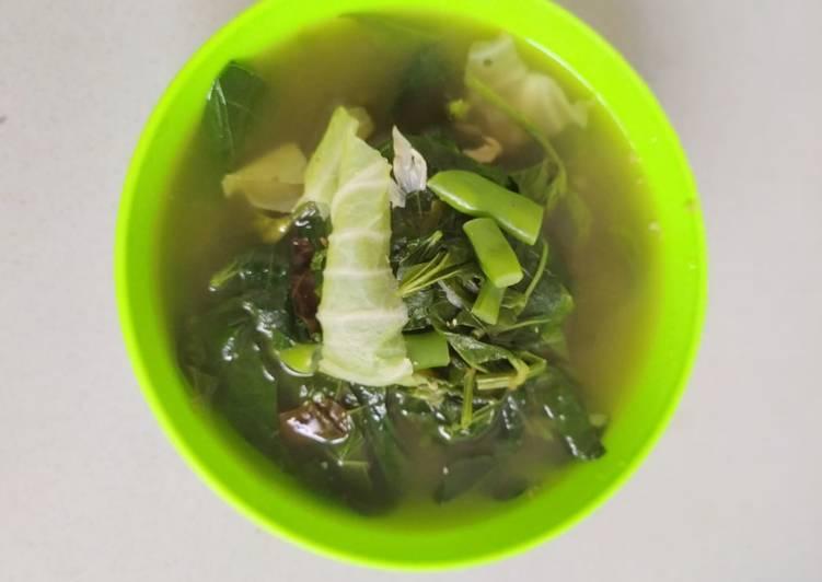 Sayur asem daun kacang