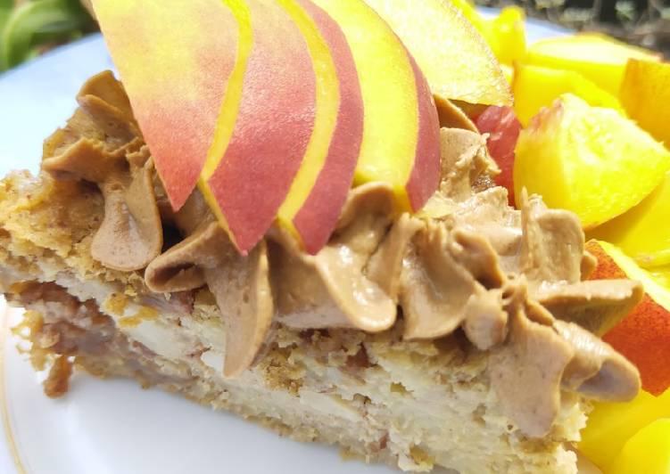 Ricetta Torta di miglio ricoperta di non cioccolato