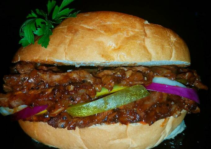 Mike's BBQ Prime Rib Sandwiches & Summertime Sides