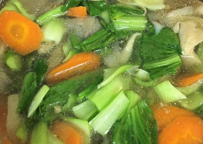 Sup Sayur & Cendawan
