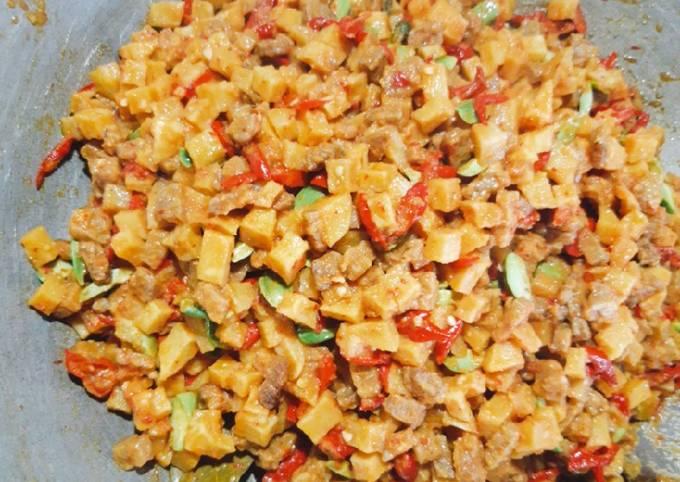 sambel goreng tempe kentang - resepenakbgt.com