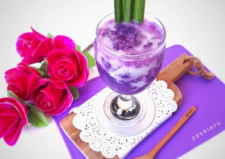 Langkah Mudah Untuk Menyiapkan Es Cendol Tepung Kanji Anti Gagal Aneka Resep Minuman Kekinian