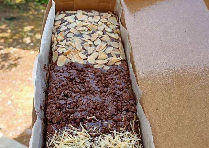 Brownies panggang 3Topping