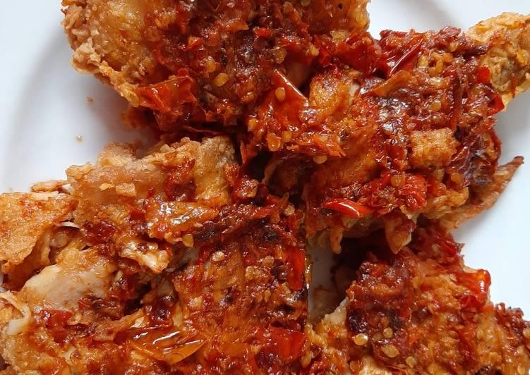 Ayam Geprek Crispy