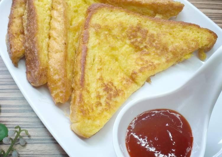 Resepi:  Roti Goreng Telur  Lazat