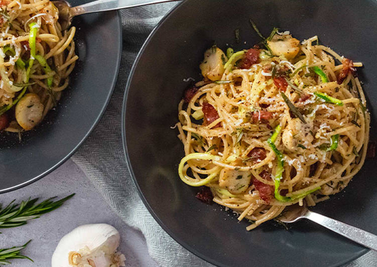 Recipe: Appetizing Healthy Spaghetti Carbonara