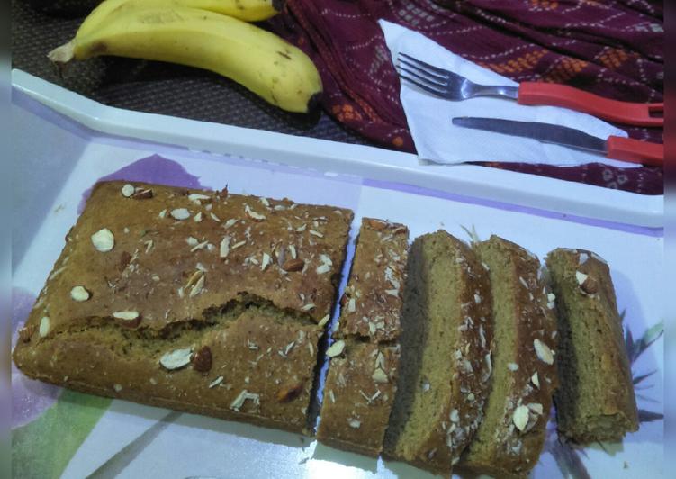 Easiest Way to Prepare Perfect Wheat flour banana cake