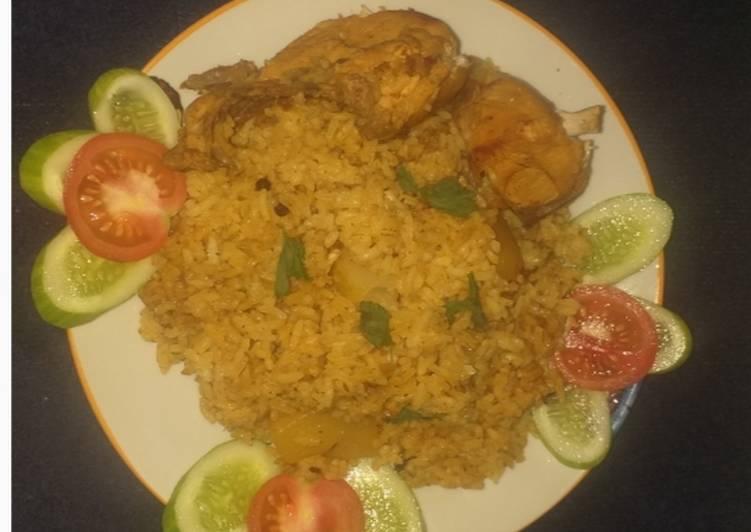 10. Nasi Biryani Ayam Praktis