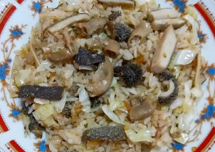 Nasi goreng tradisional jawa