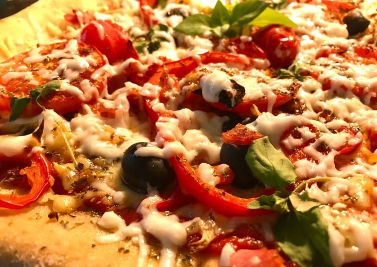 Recipe: Delicious Stuffed Crust Pizza Base