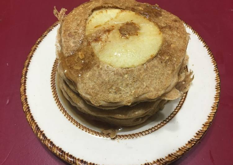 Vegan Apple Pancake