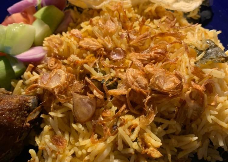 Nasi Kebuli Daging Kambing