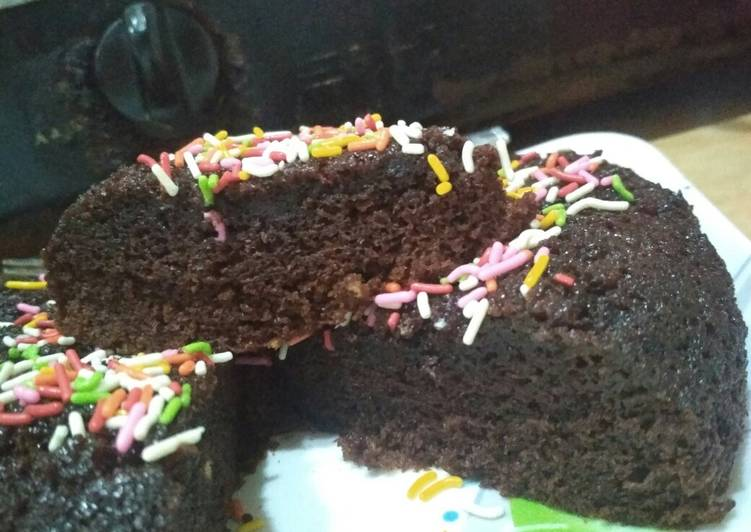 Brownies kukus chocolatos 2 telur takaran sendok