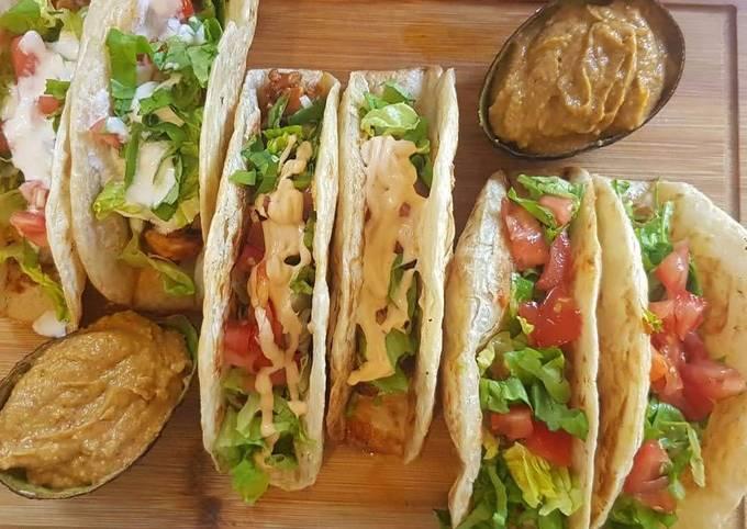 Chicken Taco (Roti)