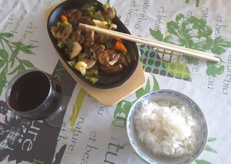 recette Magret de canard à la vietnamienne délicieux