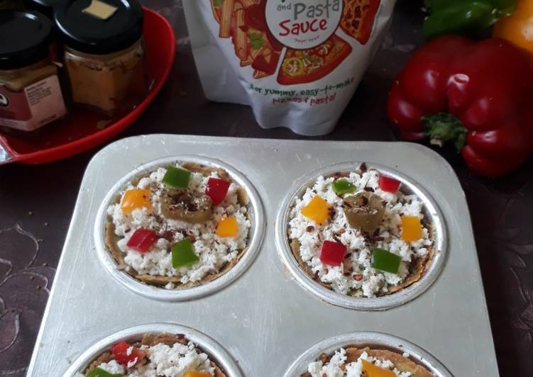 Broccoli base Pizza cups