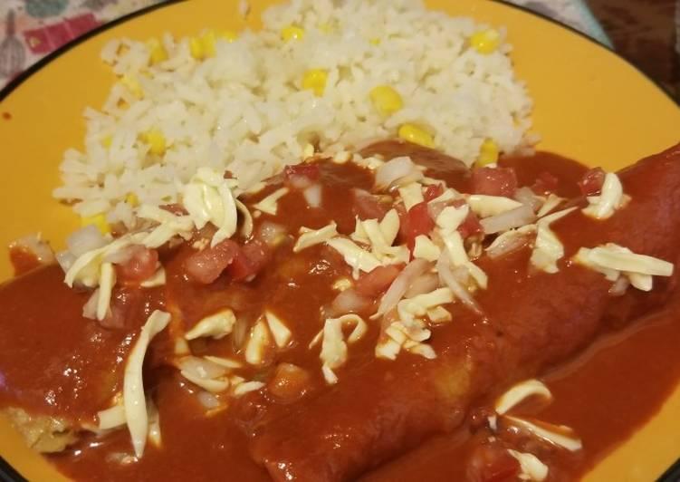 Enchiladas Rojas Dulces 🍽♥️