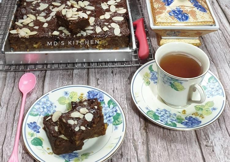 Brownies Kukus Pisang Coklat