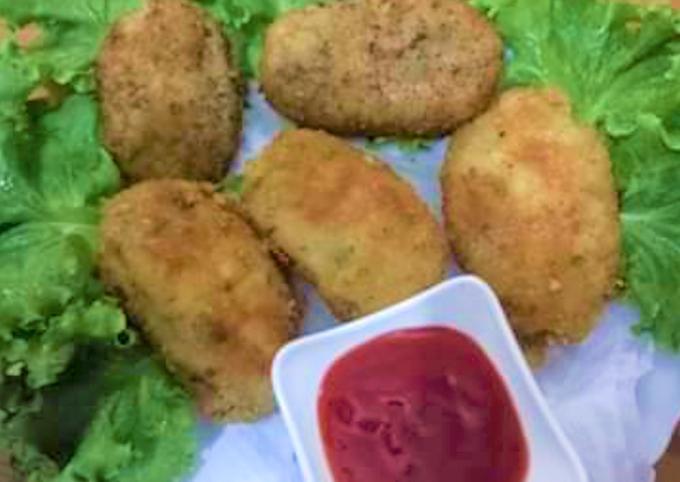 Recipe: Delicious Chicken and Potato Coquette recipe