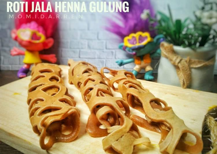 Roti Jala Henna Gulung