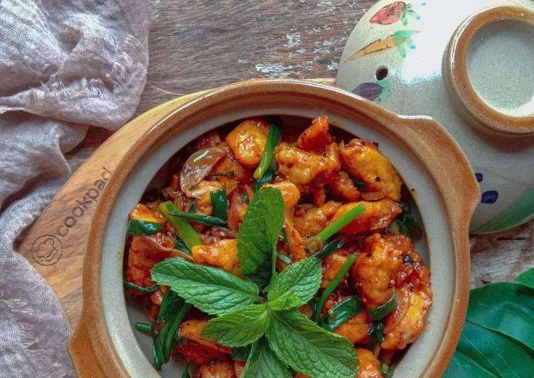 Ayam halia daun bawang #munahmasak - velavinkabakery.com