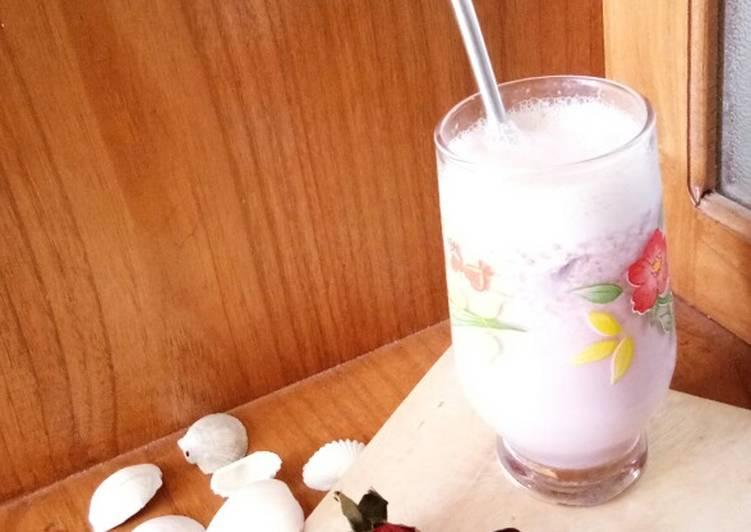 113. Strawberry Milk Juice