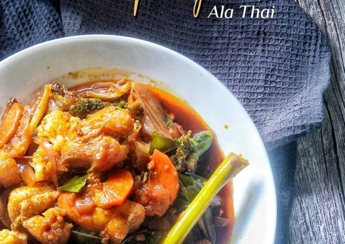 Ayam Paprik ala Thai