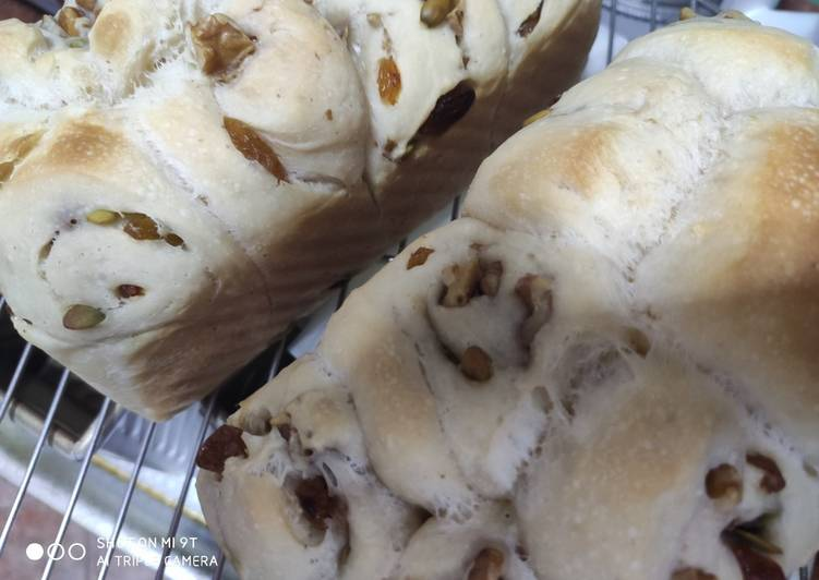 How to Make Ultimate Walnut raisins sour dough bread
