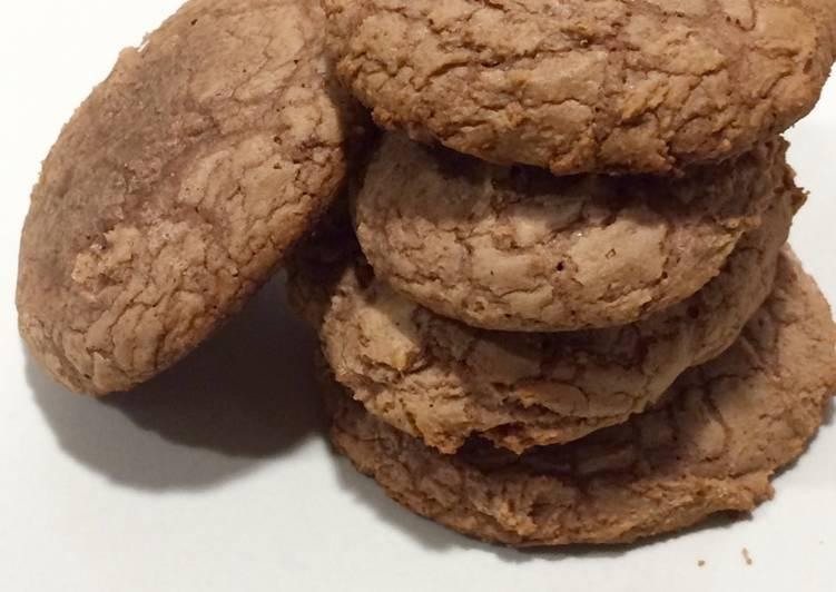 Cookies auténticas con chocolate