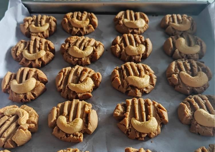 Dancow coklat cookies