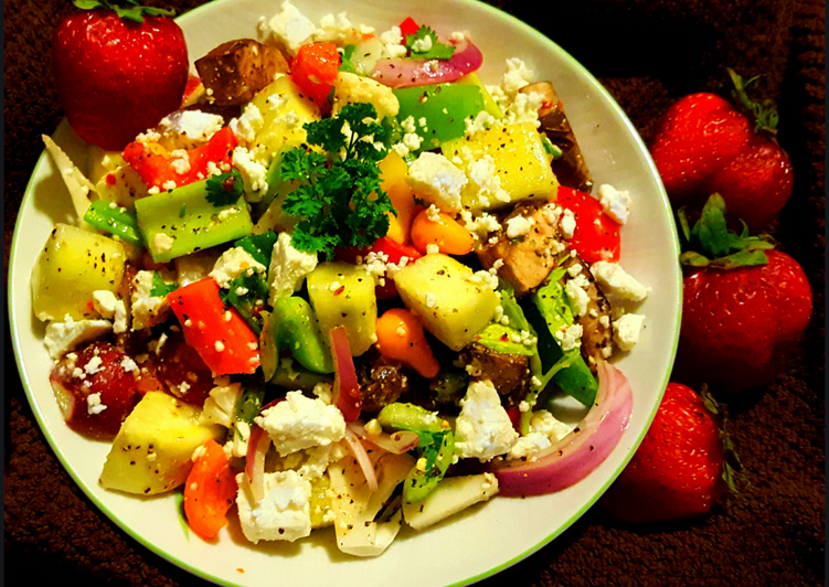 Mike's End Of Summer Salad
