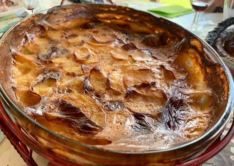 Recette Savoureux Gratin de pommes de terre