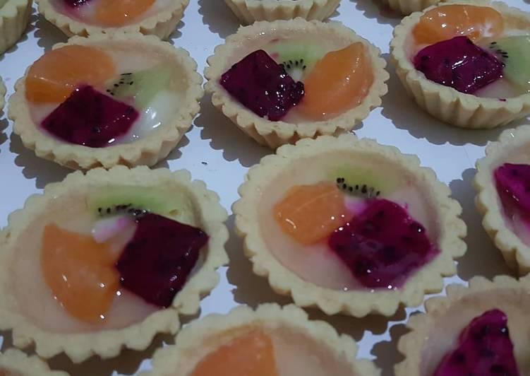 Resep Pie buah kress Bikin Laper