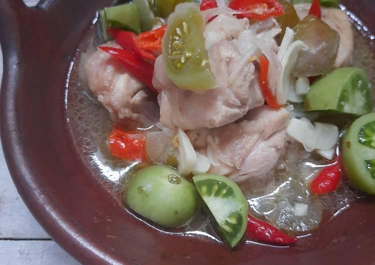 Resep Garang Asem Ayam Tanpa Santan Terbaik