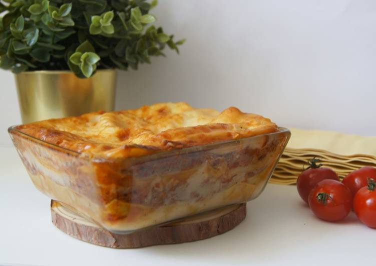 Recipe: Tasty Lasagnes maison