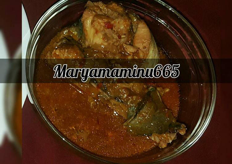 Recipe of Favorite Cat fish soup