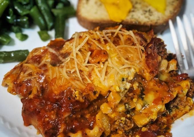 Gluten and Dairy Free Lasagna