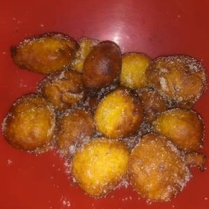 Buñuelos de zapallos coreanos dulces