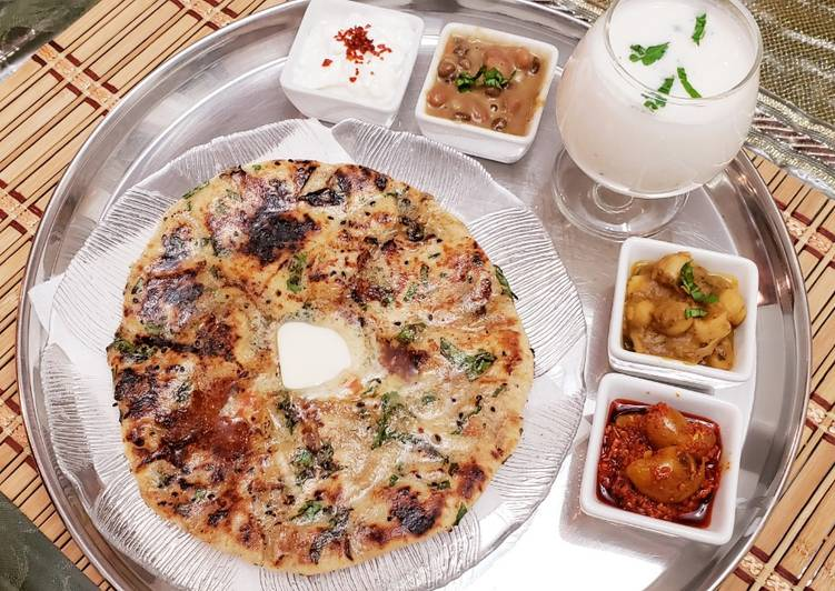 Cheese paneer pepper stuff kulcha