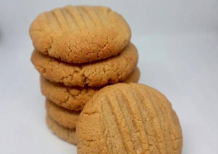 Recipe of Quick Peanut Butter Cookies 🍪
