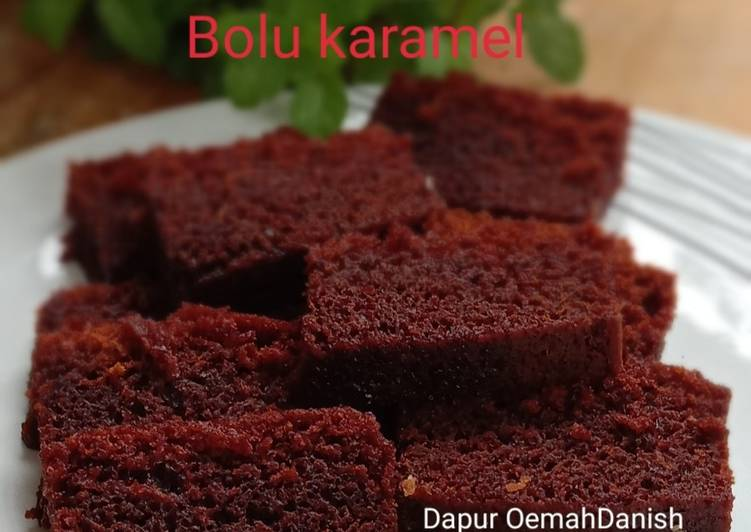 resep buat Bolu karamel simple anti gagal - Sajian Dapur Bunda
