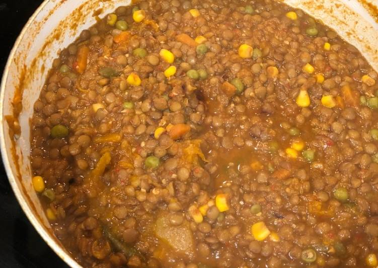 Recipe of Ultimate Green Lentil Soup